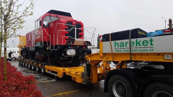 Eskişehir-İzmir Lokomotif Taşıması Tülomsaş