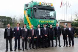 Hareket Proje Taşımacılık filosunu Mercedes-Benz Arocs 3363 LS ile güçlendirdi