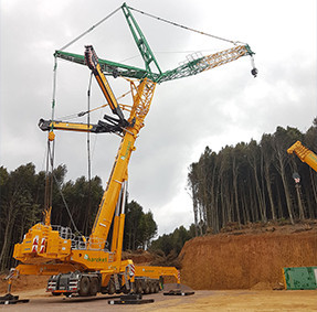 MOBILE AND ROUGH TERRAIN CRANES
