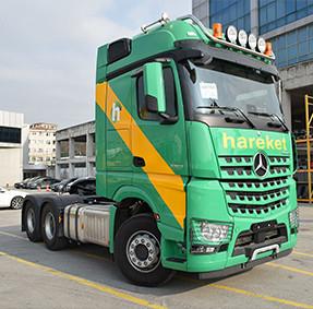 MERCEDES AROCS 6x4 630HP