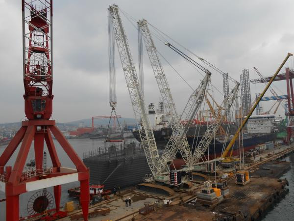 Tuzla Gemak tanker loading project