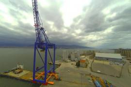 1256t Port crane transportation