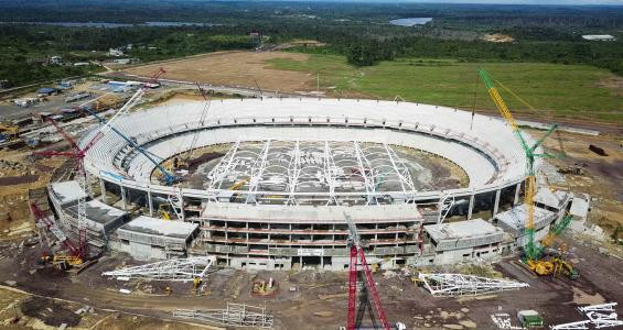 Cameroon Japoma Sport Complex Project continues