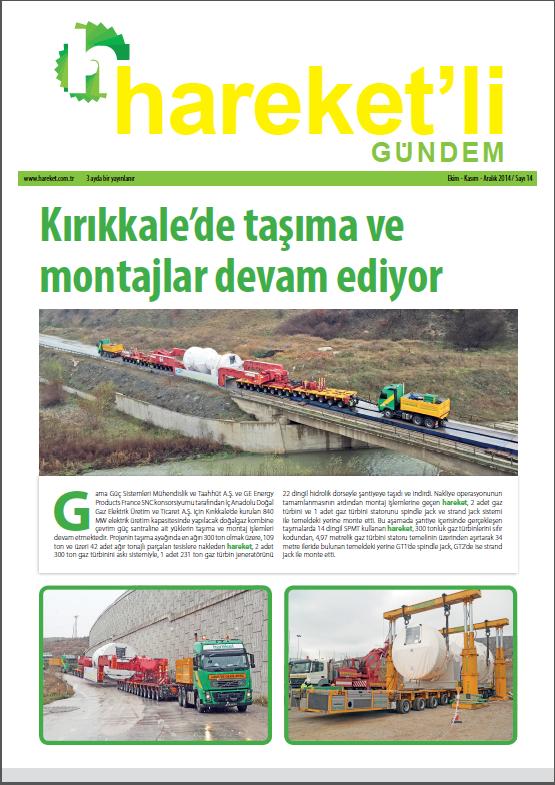 Hareket'li Gündem Magazine - ISSUE 14