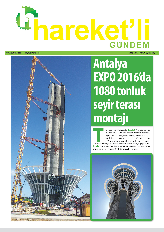 Hareket'li Gündem Magazine - ISSEU 19