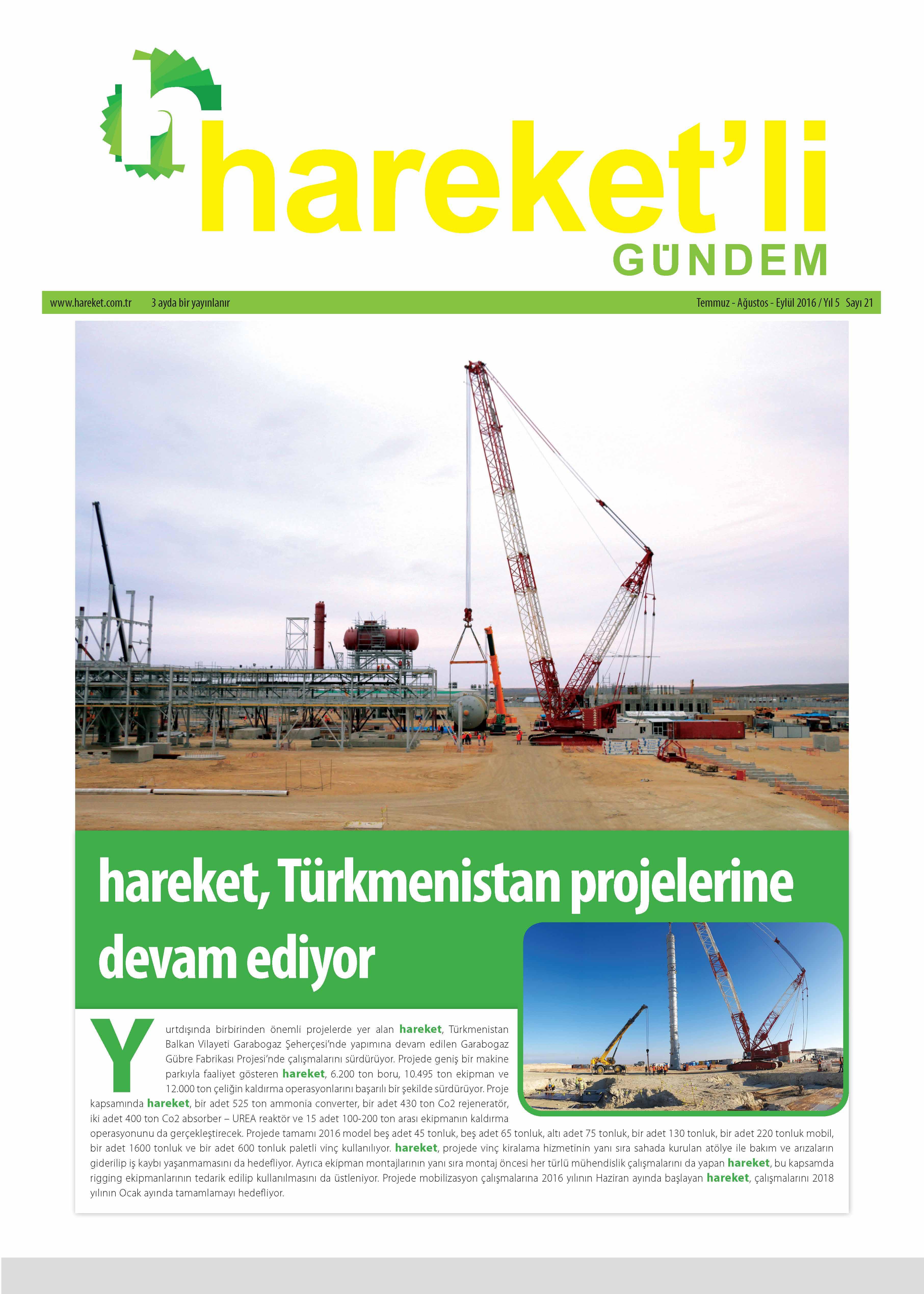 Hareket'li Gündem Magazine - ISSEU 21