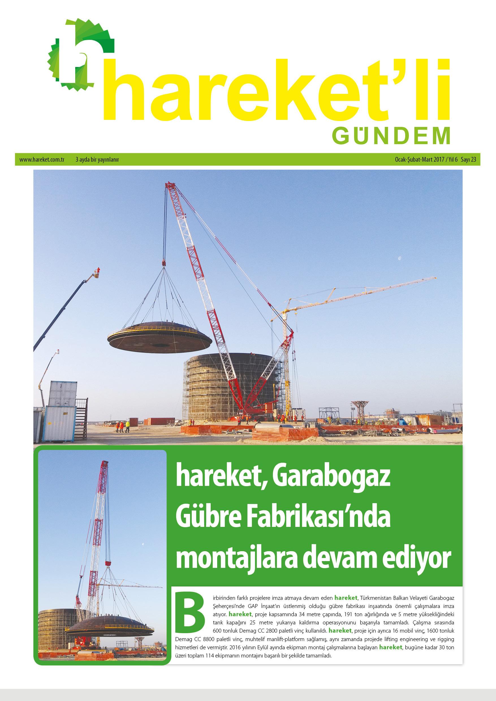 Hareket'li Gündem Magazine - ISSUE 23