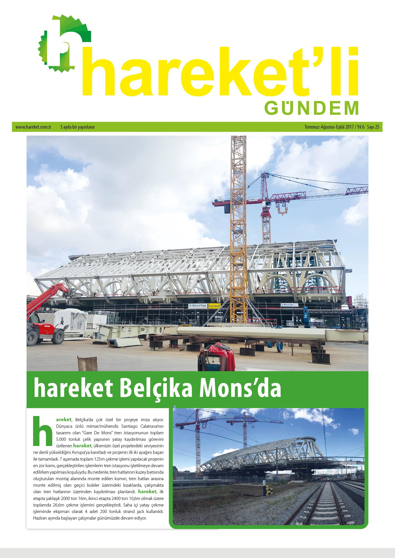 Hareket'li Gündem Magazine - ISSUE 25