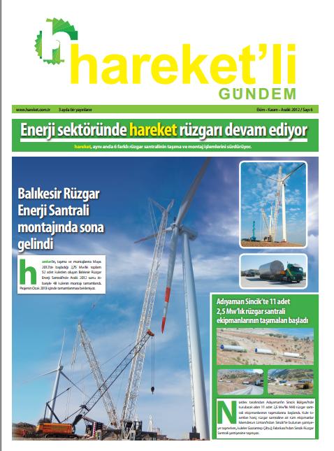 Hareket'li Gündem Magazine - ISSUE 6