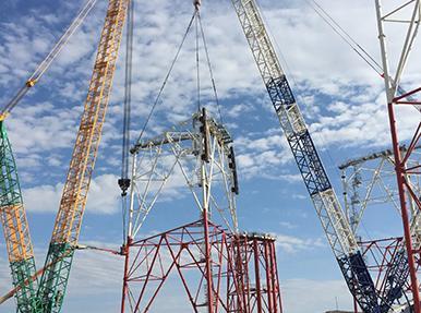 Wagenborg Foxdrill / Tekirdağ Sondaj Ünitesi Taşıma Projesi