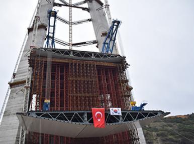 Компания «Hyundai» - Перевозка металлического блока / Проект строительства третьего моста
