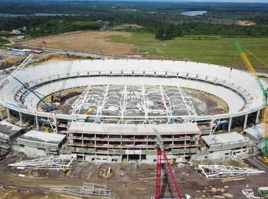 Kamerun Japoma Sport Complex Projesi