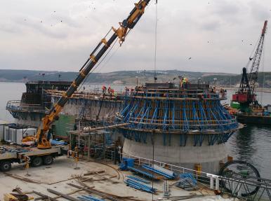 Компания «Çimtaş» - Проект строительства моста «Османгази»
