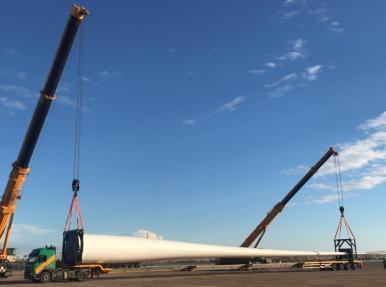 Aksu Rüzgar Enerji Santrali (RES) Türbin Montajı