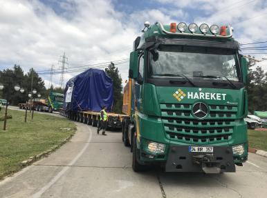 Kemerköy-Yeniköy Stator Taşıması
