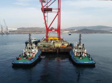 Nemport Liebherr 2 adet STS Liman Vinci Taşınması ve Kurulumu