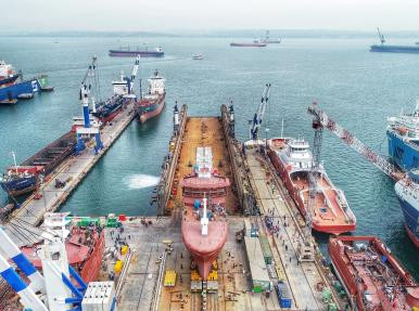 Yalova Tersan Tersanecilik gemi boşaltma operasyonu