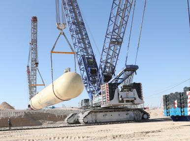 Проект по производству цистерн для сжиженного нефтяного газа Duqm.