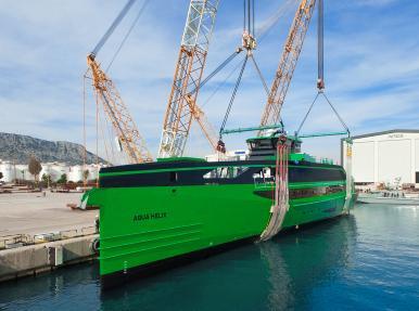 Revolutionary new marine solution meets water