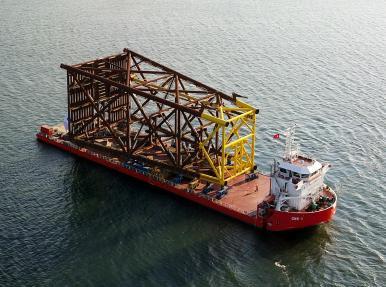 650 Tonluk Load-Out operasyonları