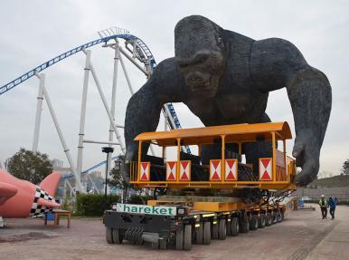 Gursoy Development Inc. – Перевозка аттракциона «Кинг Конг» в парк развлечений «Vialand».