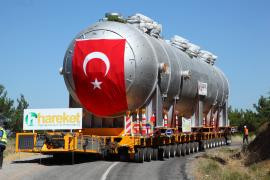 580-Ton Load ın the Swelterıng Heat