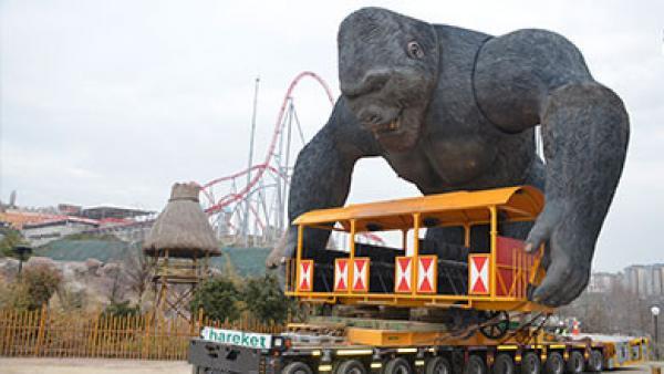 Gürsöy Geliştirme A.Ş.-Vialand King Kong Taşıması