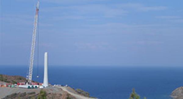 Enercon/Datça Dares Hibrit Kule Taşıma ve Montaj Projesi