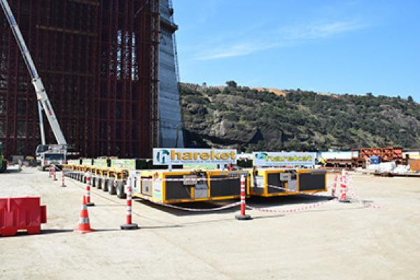 Hyundai Steel Blok Taşıma/3.Boshoros Bridge Project