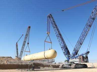 Duqm Rafinerisi LPG Bullet Tank projesi
