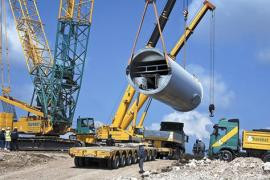Hareket Project -Heavy Transport and Lifting-918t Reactor for Tupras Refinery - Turkey 2013 (video)
